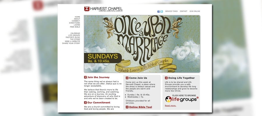 HarvestChapel.net